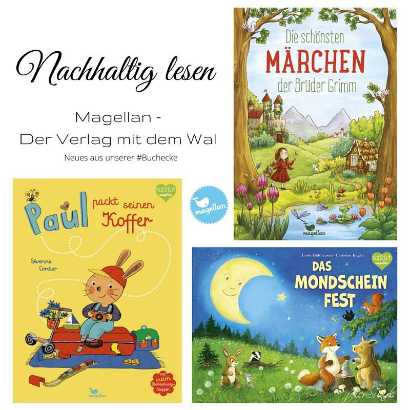 Nachhaltig lesen mit dem Magellan Verlag aus unserer #Buchecke