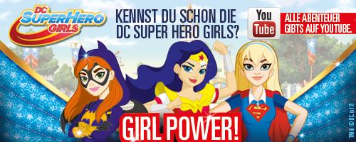 feierSun.de zeigt warum jedes Kind ein SuperGirl ist und was an den DC Super Hero Girls ganz besonders ist. Kostenlose Webserie auf YouTube